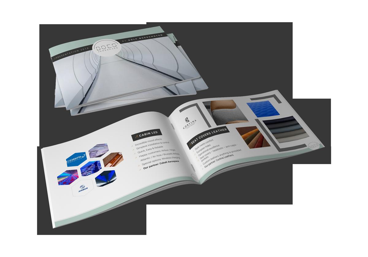BOES Aerospace Branding book