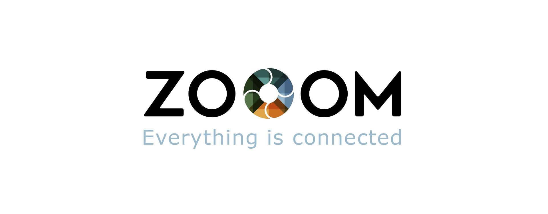 Event branding ZOOOM festival logo