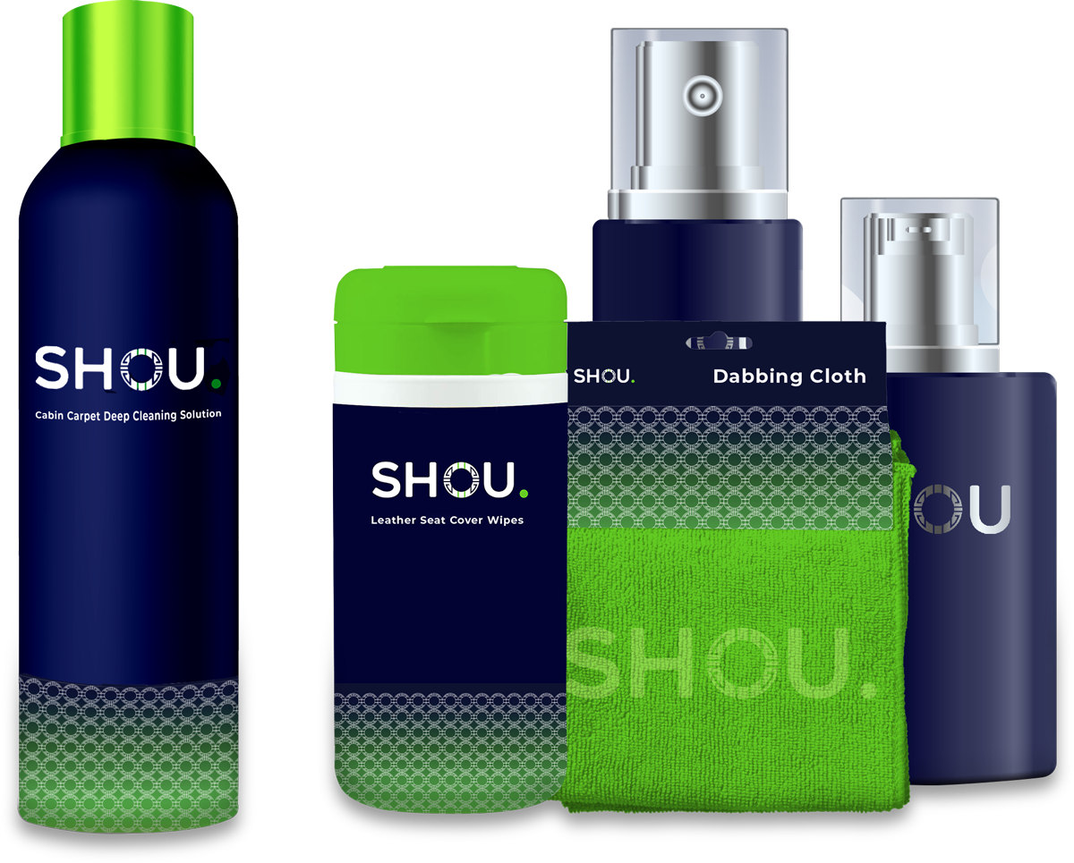 Shou cleaning products branding